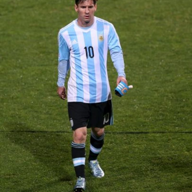 """Ha sido titular en los cinco partidos que ha jugado la """"Albiceleste"""", en los que suma 450 minutos. Foto:AFP"""