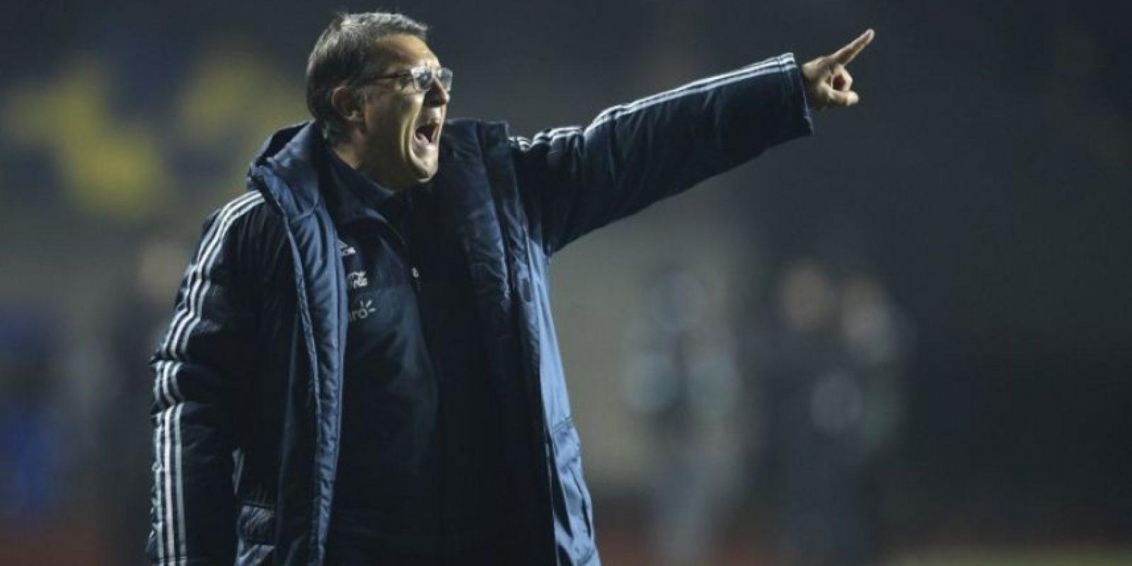 Gerardo Martino, entrenador de Argentina Foto:AFP