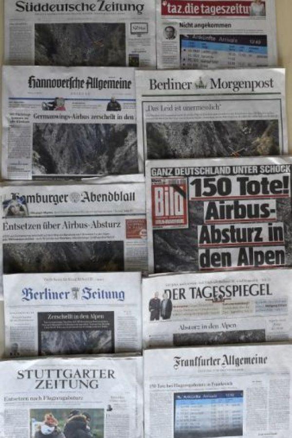 Murieron los 144 pasajeros y los 6 integrantes de la tripulación Foto:AFP