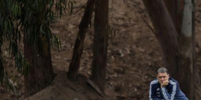 """El """"Tata"""" fue dirigido por Bielsa en Newell's Old Boys Foto:AFP"""
