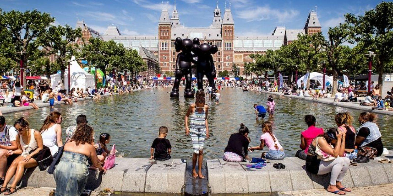Las altas temperaturas permanecerán unos días más. Foto:AFP