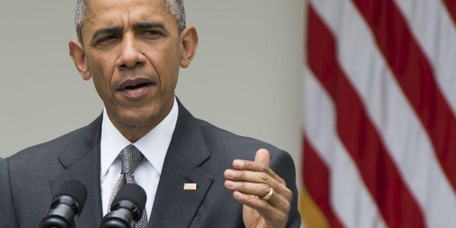 Barack Obama habló del avance de la economía en Estados Unidos. Foto:AFP
