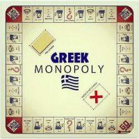 """6. Una versión del Monopoly """"griego"""" surgió en redes sociales. En efecto, no hay dinero. Foto:Instagram.com/antoniomazza88"""