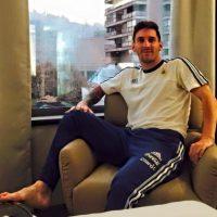 """Aunque sólo lleva un gol marcado, la """"Pulga"""" ha tenido una buena actuación en el torneo sudamericano. Foto:Vía facebook.com/AFASeleccionArgentina"""