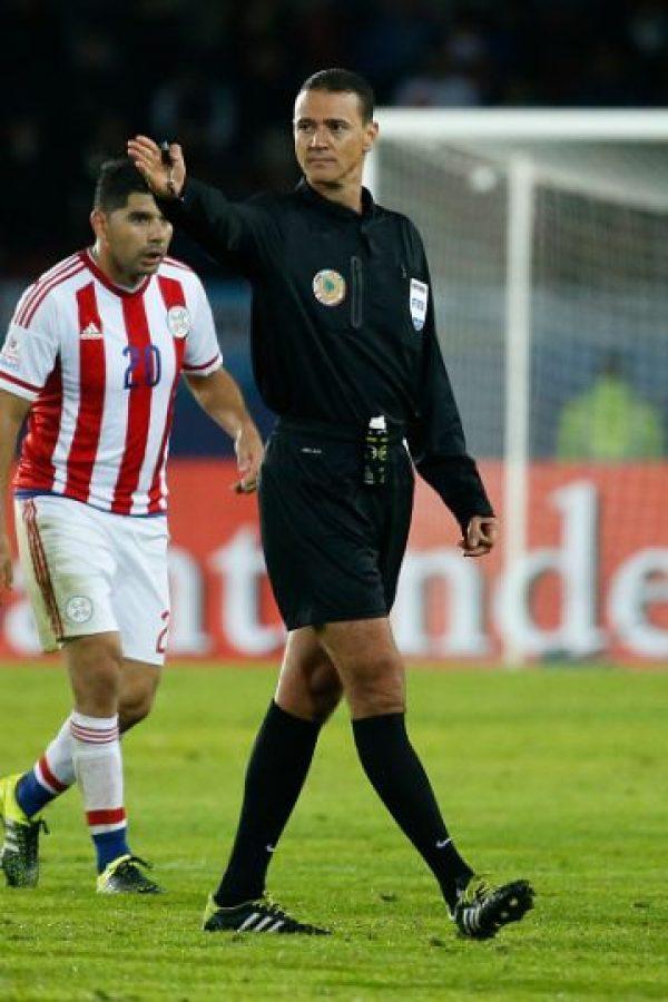 El colombiano Wilmar Roldán fue el elegido por Conmebol para dirigir la final de la Copa América entre Chile y Argentina. Foto:Getty Images
