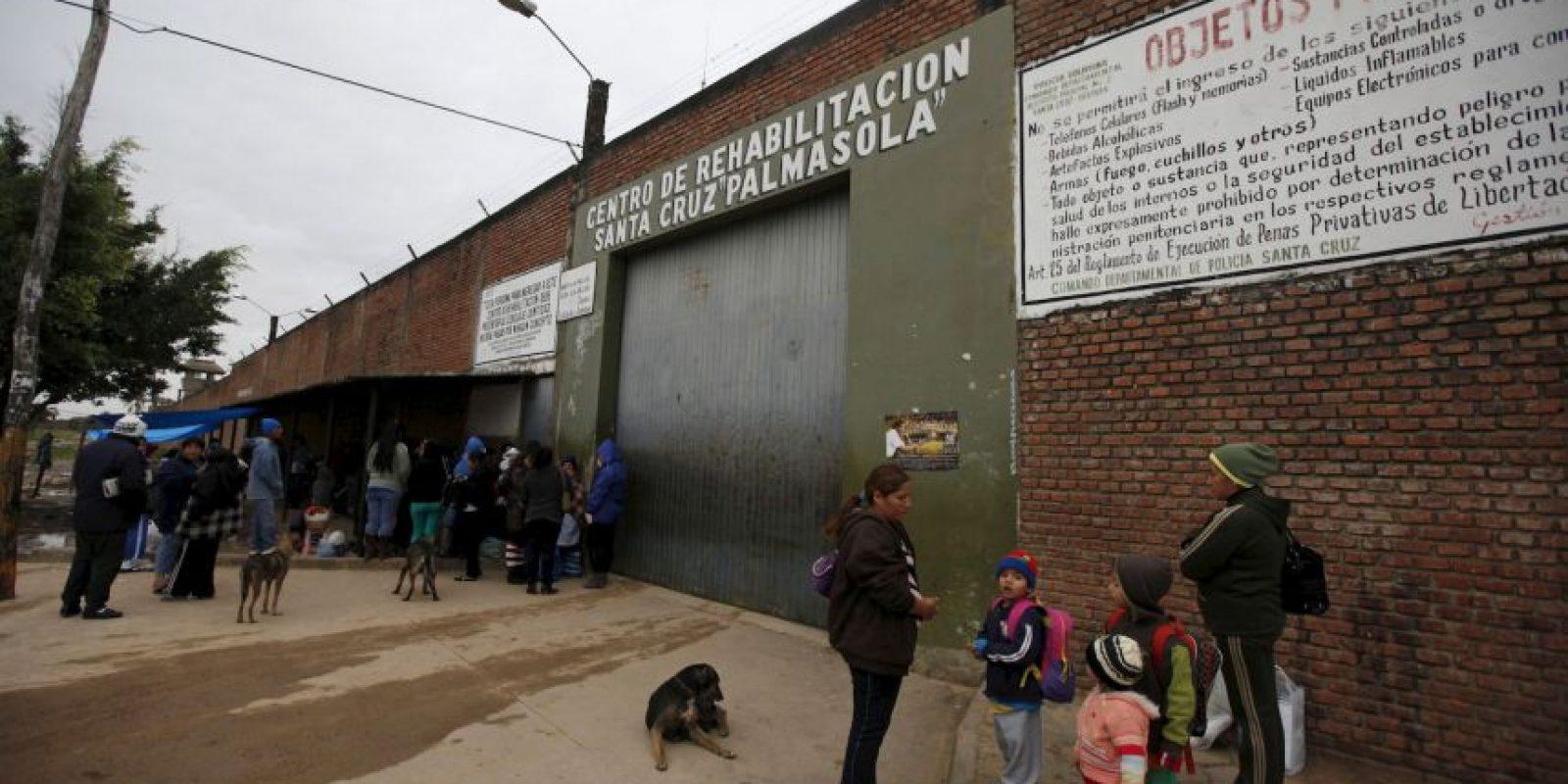 Esta es la cárcel de La Palmasola, en Santa Cruz, Bolivia, donde realizará una visita Foto:AP