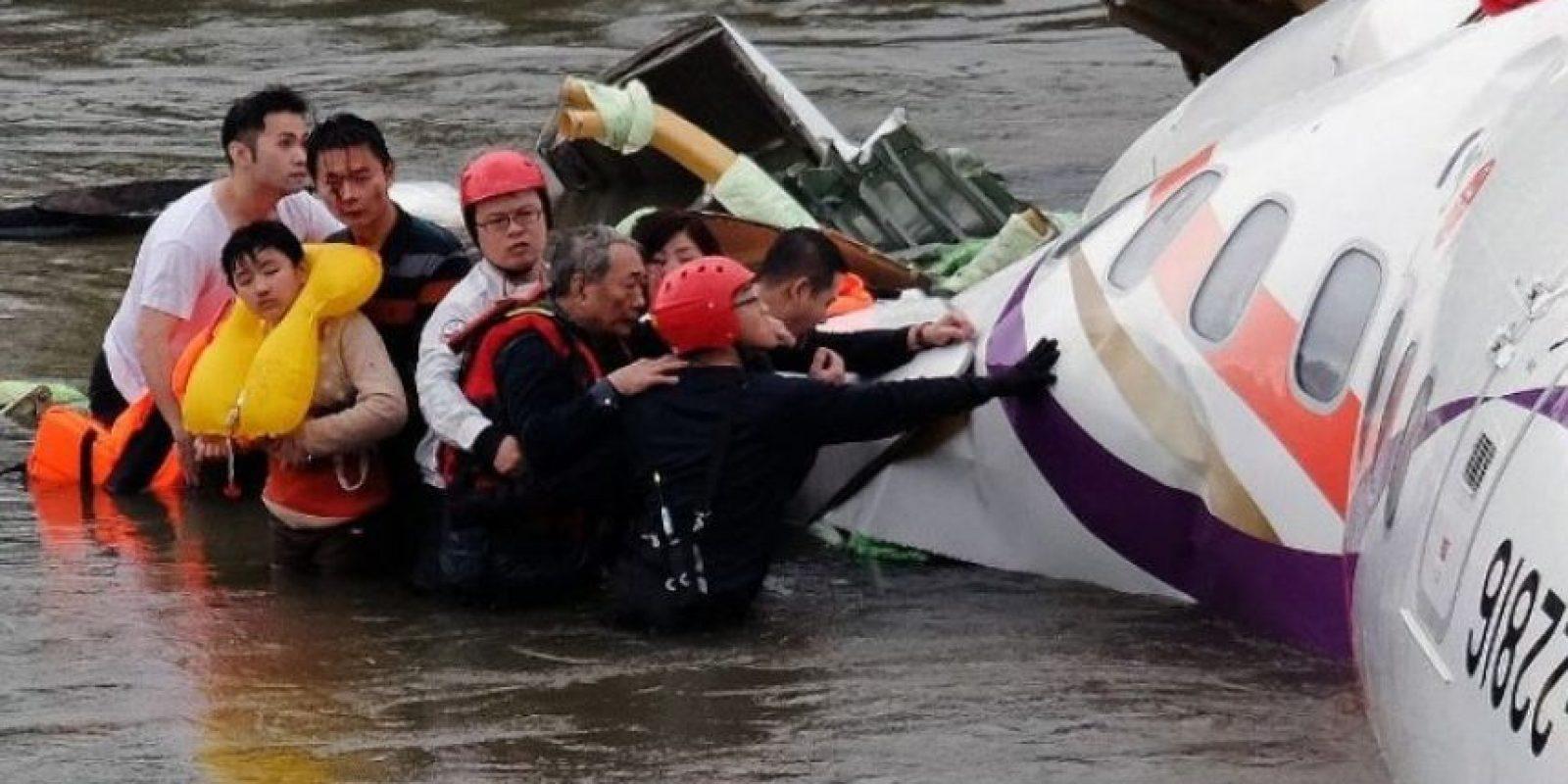 Se dirigía hacia las islas Kinmen, en el mismo país. Foto:AFP