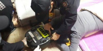 1. Mujer es atacada por su robot aspiradora Foto:Changwon Fire Service Headquarters