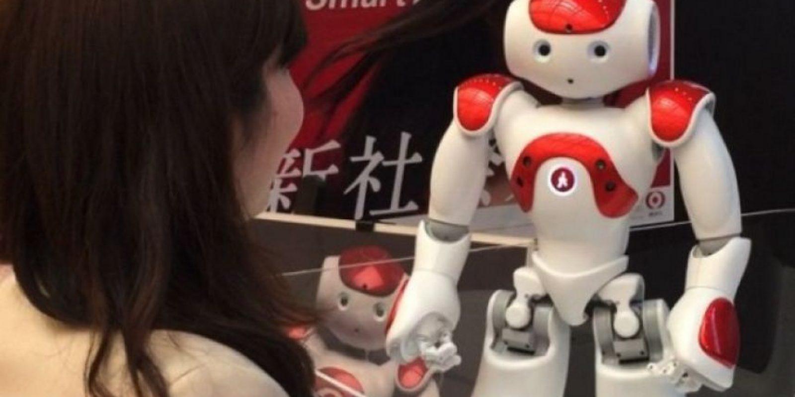 2. El robot que atienden los bancos japoneses Foto:instagram.com/345triangle/