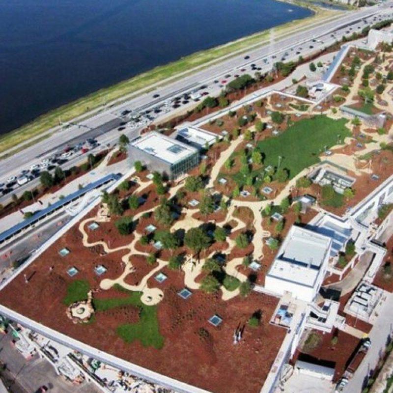 El nuevo complejo de Facebook en Menlo Park, California. Foto:instagram.com/sliikric