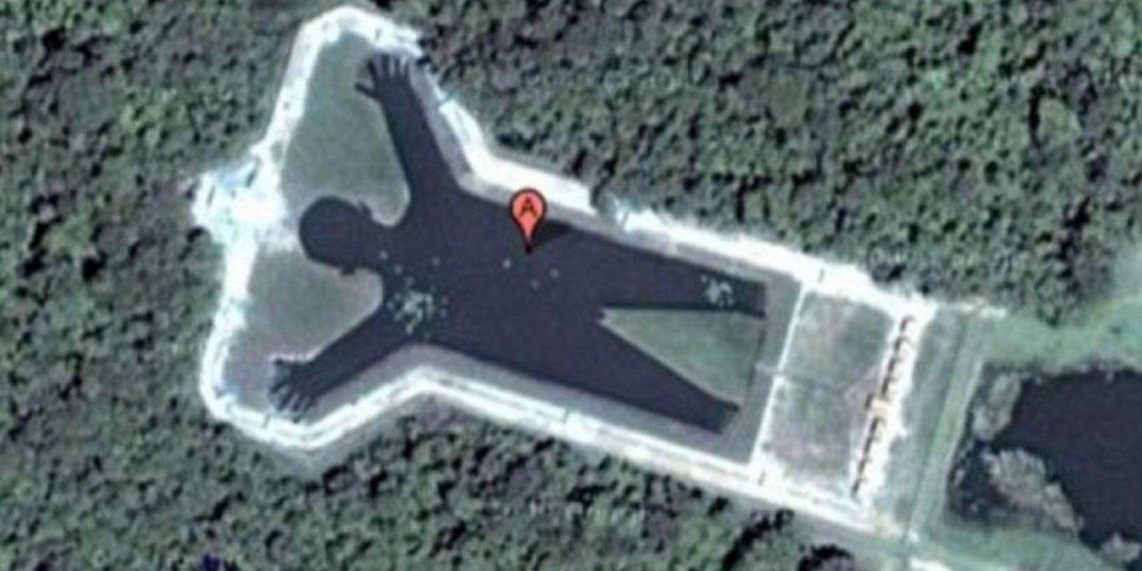 La silueta de una persona. Foto:Google