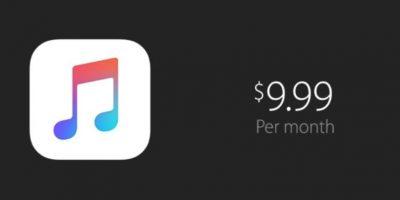 El servicio es únicamente por suscripción y cuesta 9.99 dólares al mes (14.99 en plan familiar). Foto:Apple