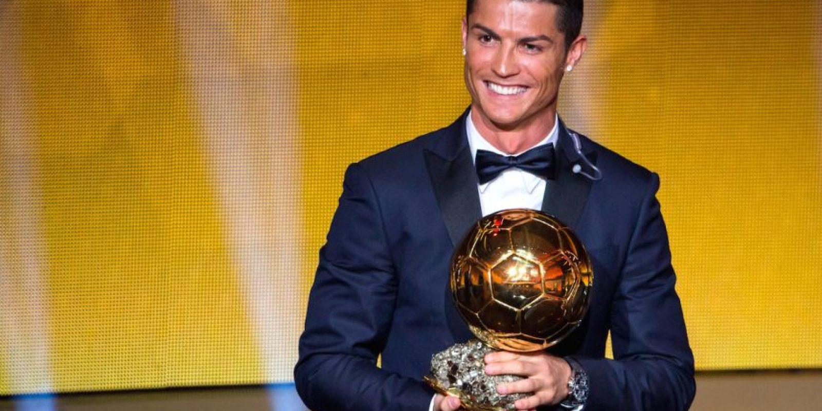 En la ceremonia del Balón de Oro de 2014, el portugués Cristiano Ronaldo resultó vencedor. Foto:Getty Images