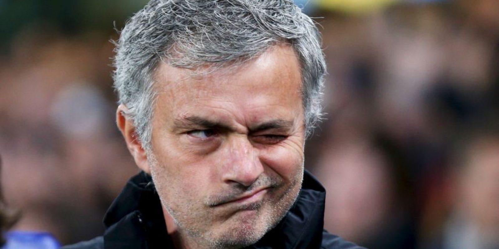 """10. José Mourinho no es conocido precisamente por su humildad. En 2004, cuando fue presentado con el Chelsea, dijo en su presentación: """"No soy arrogante, solo soy campeón de Europa y creo que eso me hace especial"""". Gracias a esta frase se le conoce con el apodo de """"The Special One"""". Foto:Getty Images"""