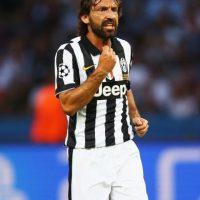 Con 36 años, Andrea Pirlo juega en la Juventus y aún tiene un año de contrato. Foto:Getty Images
