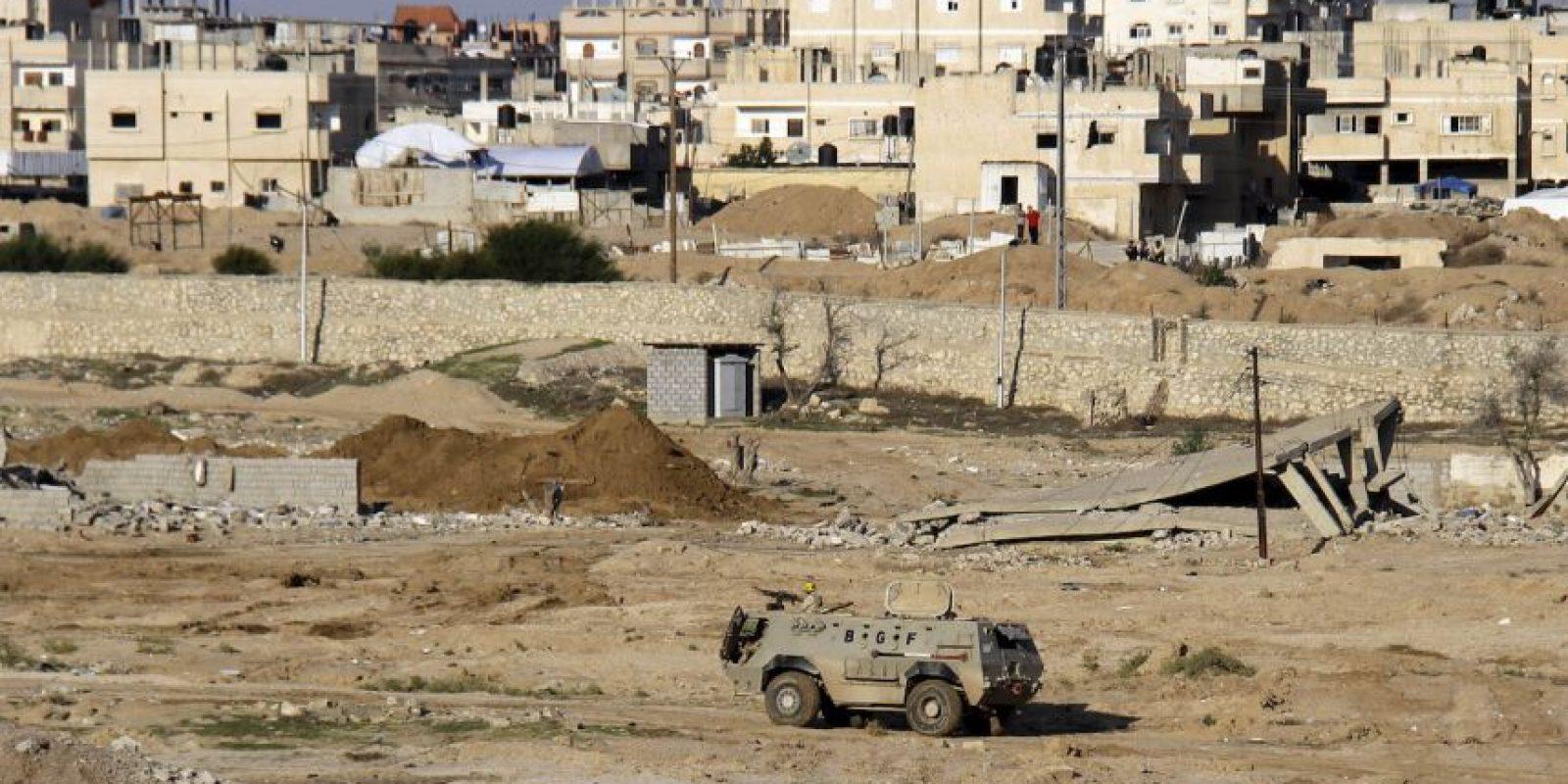 Ejército egipcio retoma el control en la península de Sinaí. Foto:AP