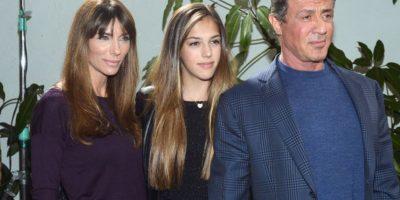 Es hija de Sylvester Stallone y su tercera esposa, la modelo Jennifer Flavin. Foto:vía Getty Images