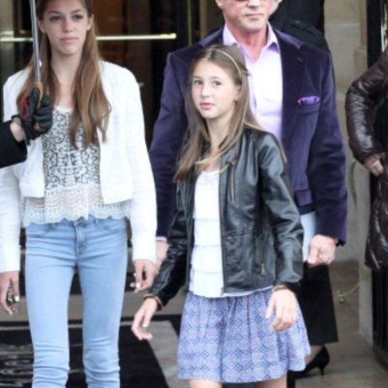 Es la mediana entre tres hijas de 18, 17 y 12 años. Foto:vía Getty Images