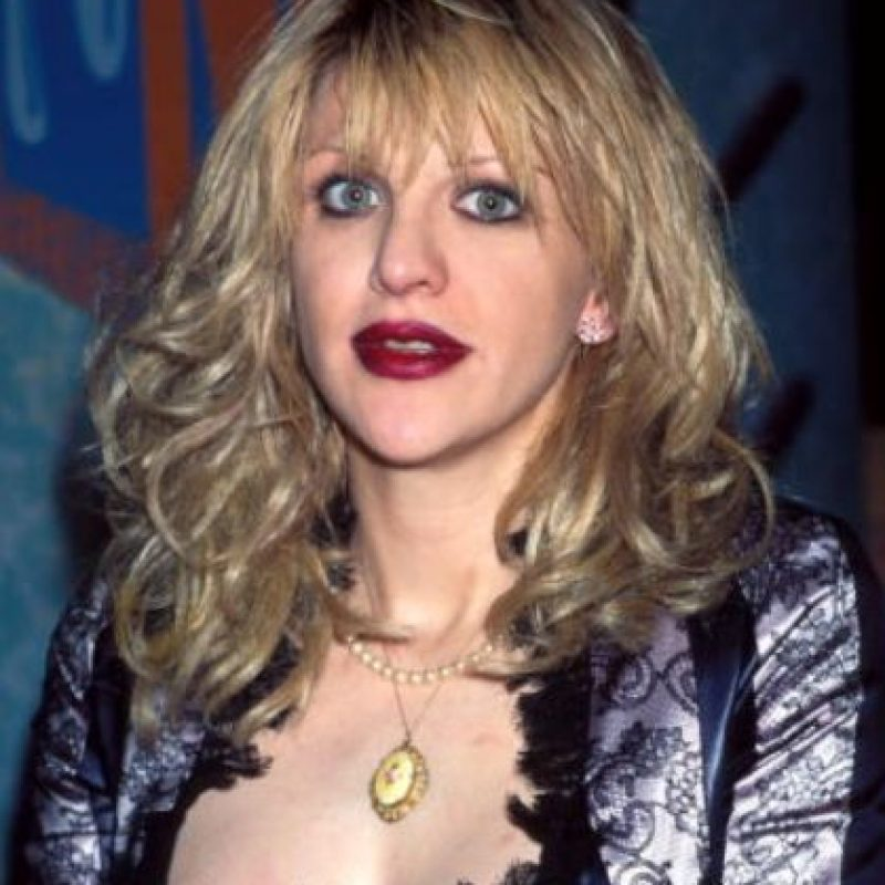Courtney Love ya era así en los 90. Foto: vía Getty Images