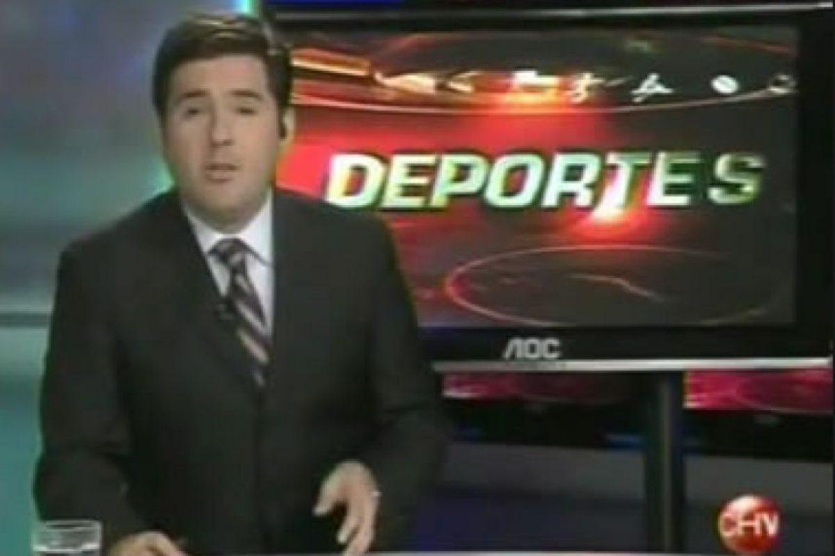 """Cristian Arcos, periodista de Chilevisión y radio ADN, indicó que ve a Argentina favorito, pero """"Chile no saldrá con miedo"""". Foto:Twitter"""