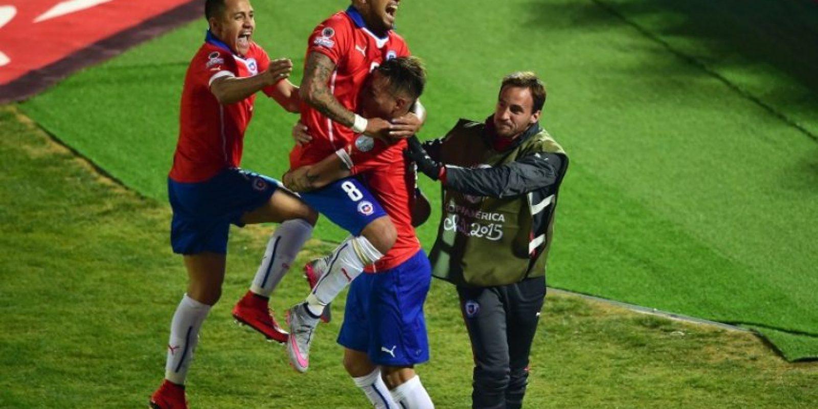 1. Se juega con gran intensidad Foto:AFP