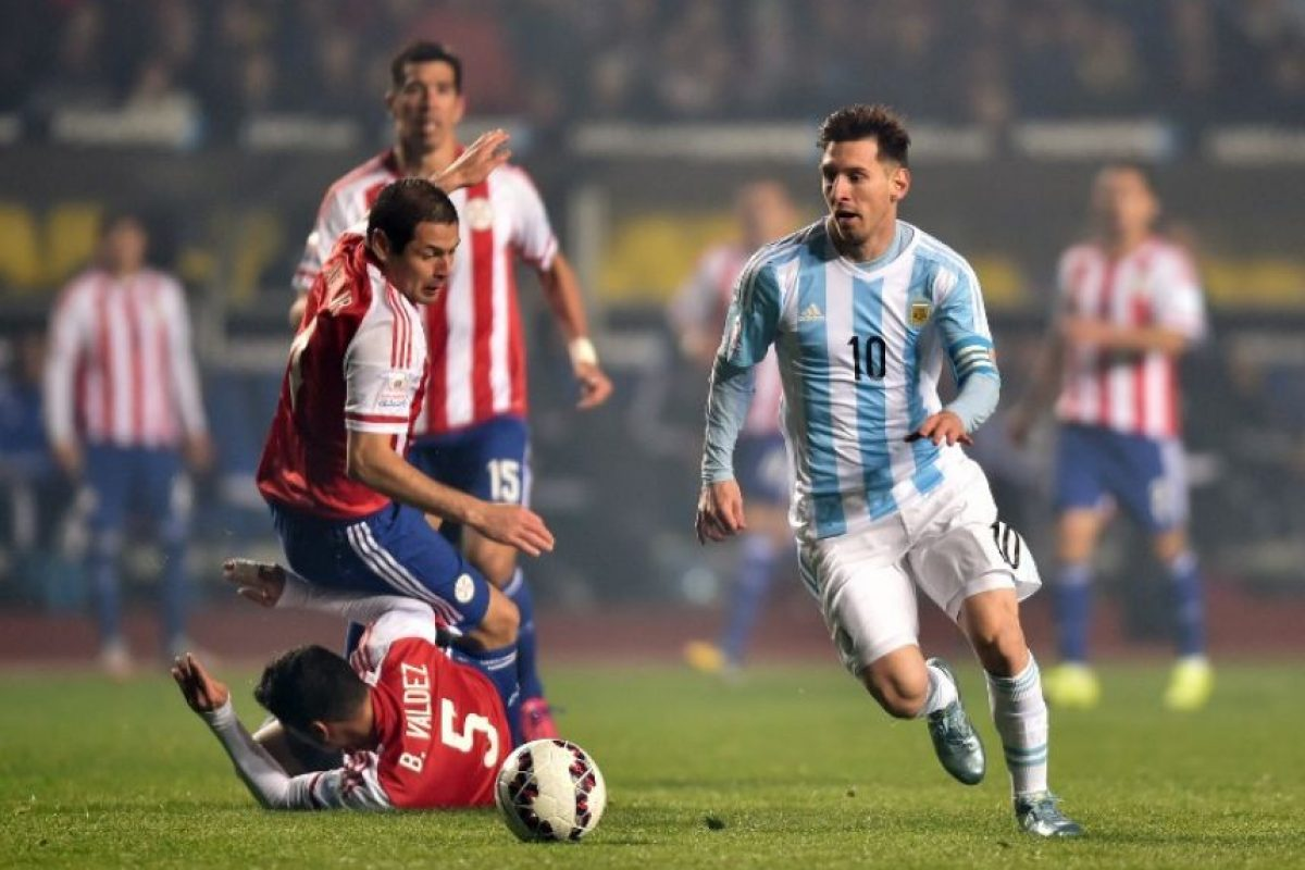 Pero Argentina es el que más tiros ha hecho a puerta, con 77 lanzamientos. Foto:AFP