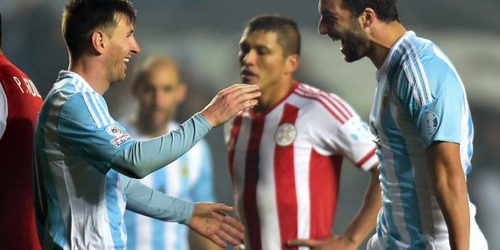 Ambos tienen a los líderes en asistencias. Messi ha dado tres pases para gol Foto:AFP