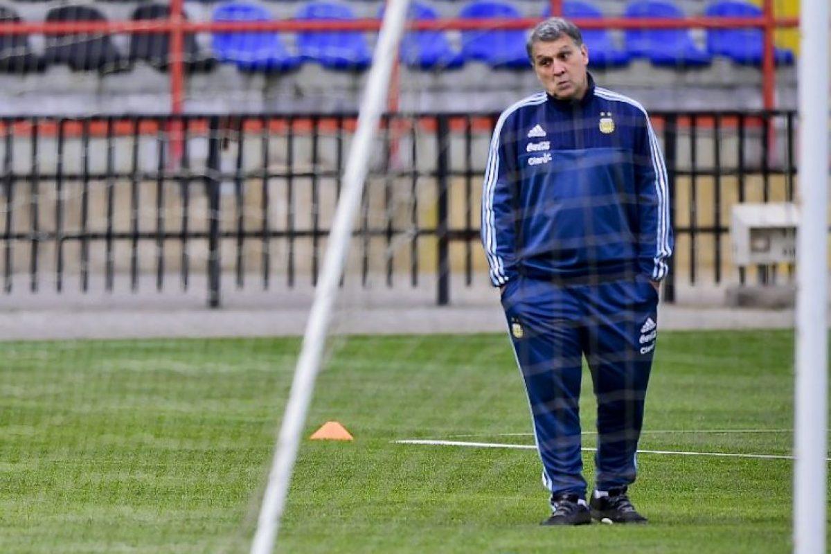 """El """"Tata"""" será el primer DT que juega dos finales de Copa América con dos selecciones diferentes. Foto:AFP"""