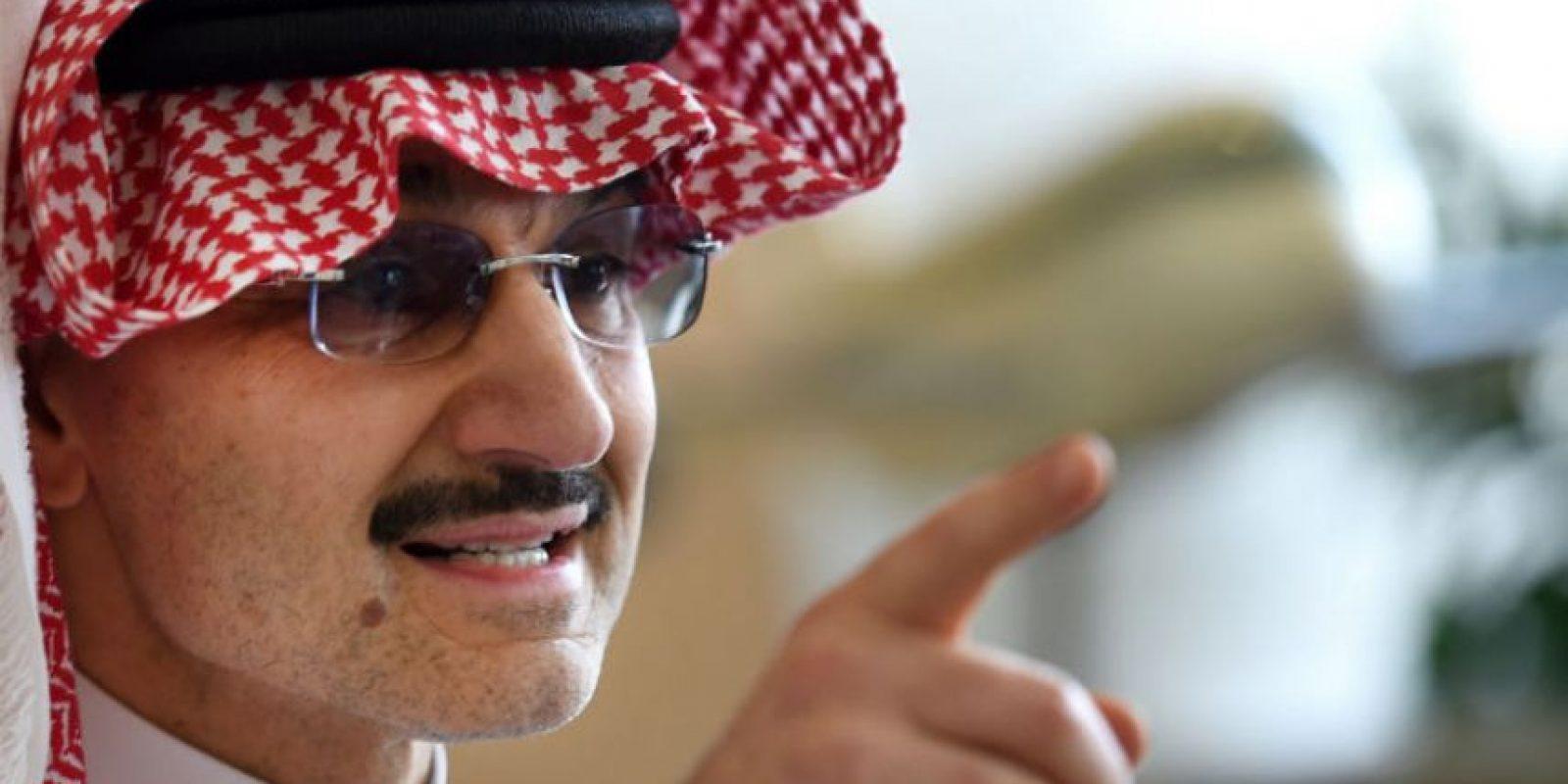 El príncipe saudí, Alwaleed bin Talal, donará toda su fortuna debido al compromiso que hizo con la fundación Bill y Melinda Gates. Foto:AFP