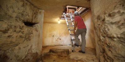 La reliquia arqueológica tiene al menos dos mil años de antigüedad. Foto:AFP