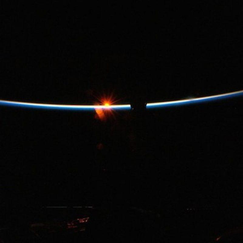 """""""Día 93. Fue un recordatorio de que los viajes espaciales son pesados"""" Foto:Instagram.com/stationcdrkelly"""