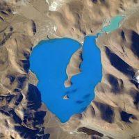 El lago North East en los Himalayas, de acuerdo a Kelly es el lugar más azul del mundo. Foto:Instagram.com/stationcdrkelly