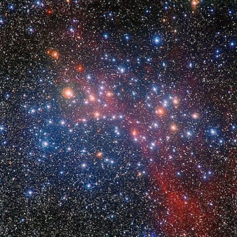 """Una imagen captada por el telescopio Hubble. """"Desde entonces nuestra visión del espacio no ha sido la misma"""". Foto:Instagram.com/stationcdrkelly"""