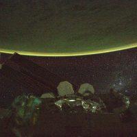 La Tierra en la noche. Foto:Instagram.com/stationcdrkelly