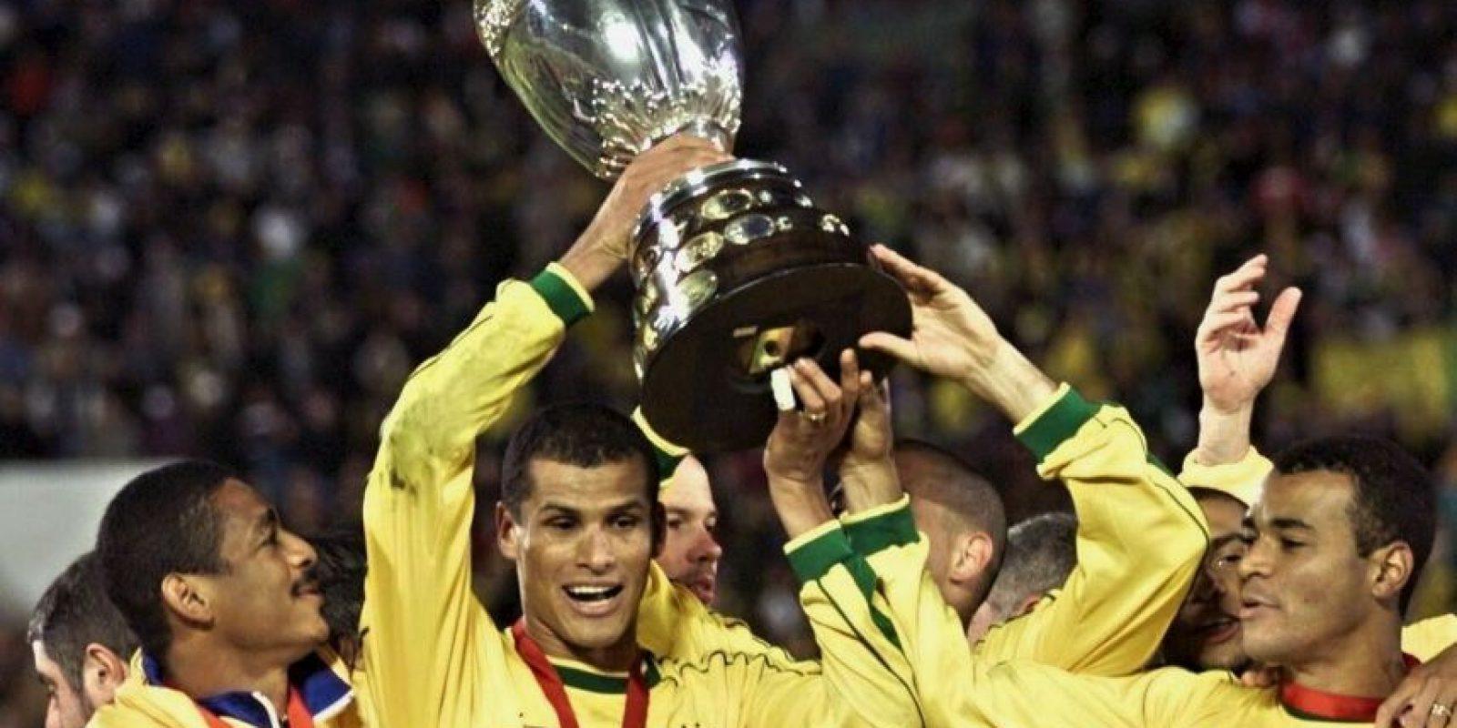 Copa América 1999: Brasil 3-0 Uruguay Foto:AFP