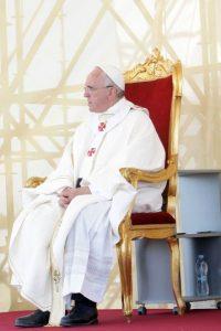 4. Su nombre completo es Jorge Mario Bergoglio. Foto:Getty Images