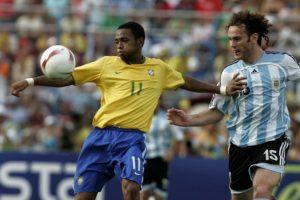 Copa América 2007: Brasil 3-0 Argentina Foto:AP