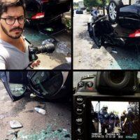 Usuarios de redes sociales compartieron imágenes de las protestas. Foto:instagram.com/marcancelle