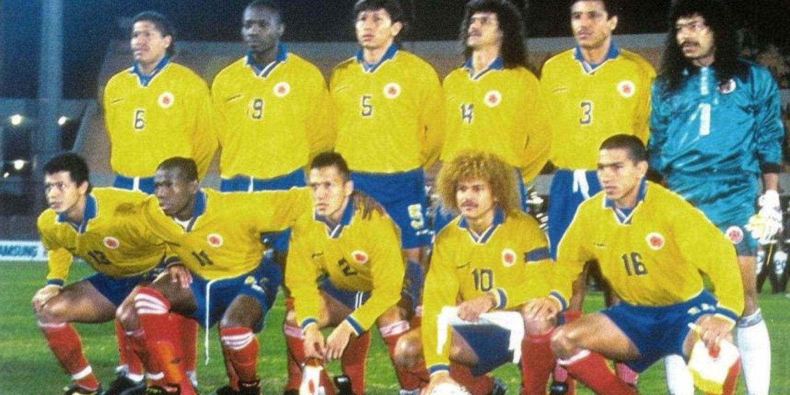 Colombia en 1995. Foto:Twitter