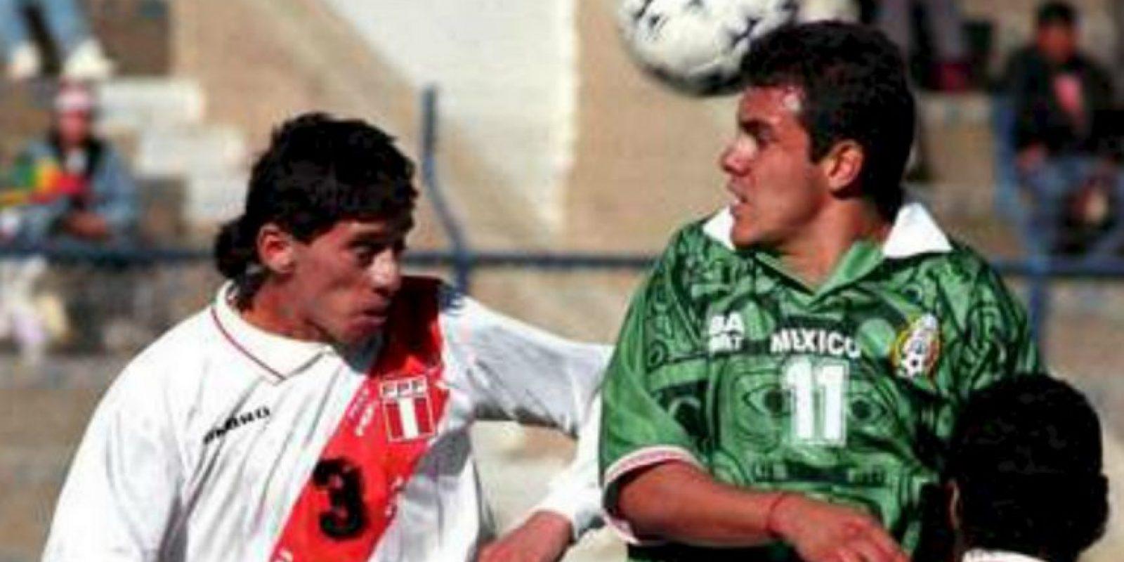 México se quedó con el tercer lugar al vencer 1-0 a Perú. Foto:Twitter