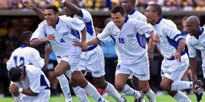 Honduras obtuvo el tercer puesto al vencer 5-4 en penales a Uruguay (el tiempo reglamentario terminó empatado a dos anotaciones). Foto:Twitter