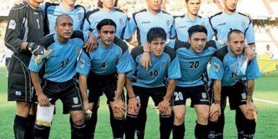 Uruguay en 2004. Foto:Twitter