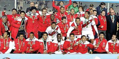 Perú ganó el tercer lugar al ganar 4-1 a Venezuela en la justa realizada en Argentina. Foto:Twitter