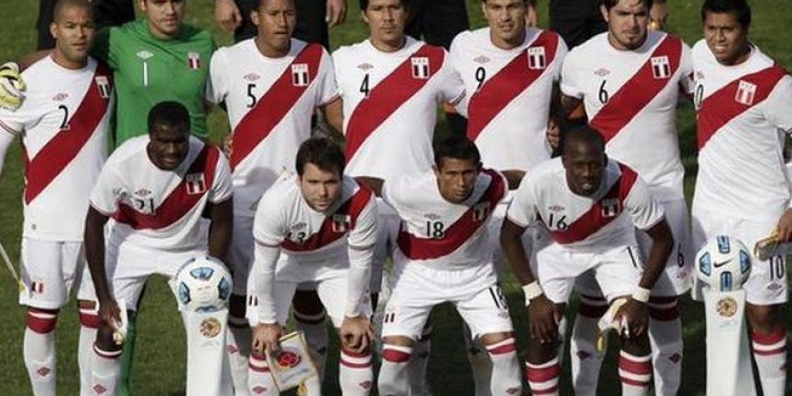 Perú en 2011. Foto:Twitter