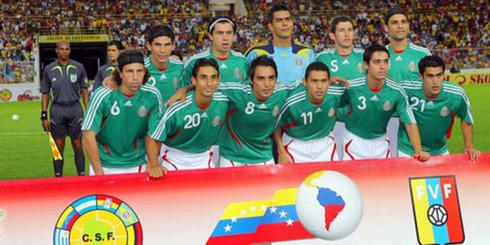 México fue tercero al derrotar 3-1 a Uruguay en la justa organizada en Venezuela. Foto:Twitter
