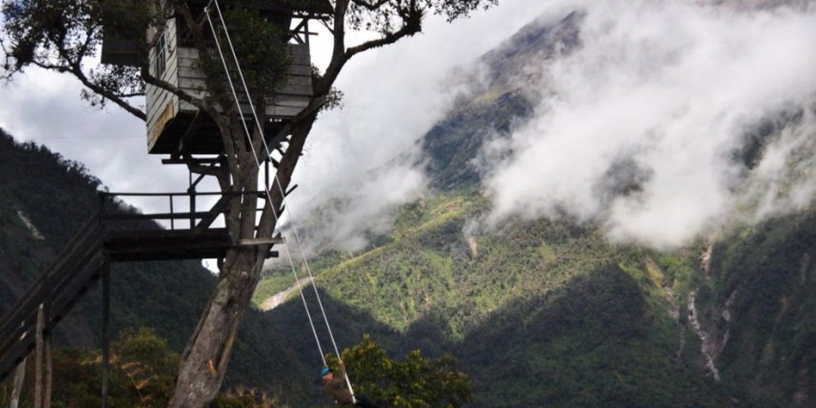 """""""El fin del mundo"""", en Ecuador. Foto:vía Flickr."""
