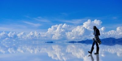 Salar de Uyuní en Bolivia. Foto:vía Flickr.