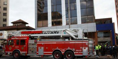 El cuerpo de bomberos reporto únicamente siete lesionados. Foto:Juan Pablo Pino/Publimetro Colombia