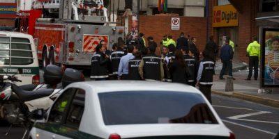 Fuertes explosiones sacuden a Bogotá