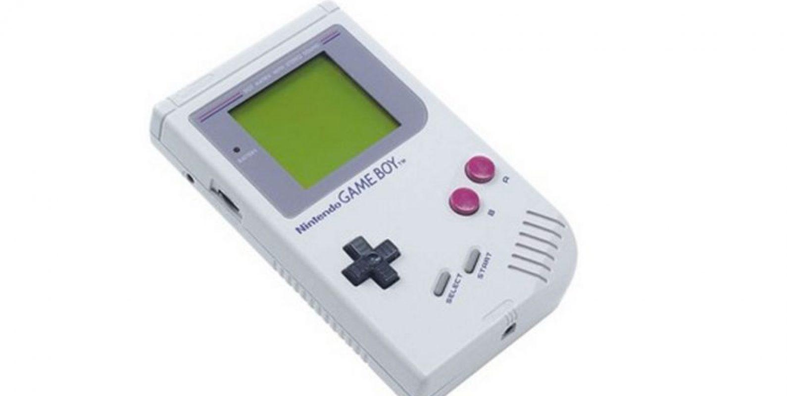 Game Boy fue la primera consola portátil de la empresa Foto:Nintendo